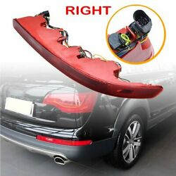 RIGHT Lower Bumper Reflector Tail Light Reverse Stop Lamp For Audi Q7 2006 07 15 $39.98