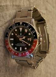 Rolex 1675 GMT Master With Inner Box And Documets $20000.00