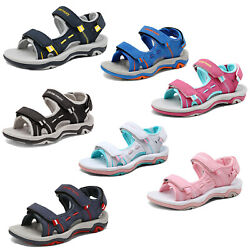 Kids Boys Girls Athletic Sandals Open Toe Water Sports Summer Beach Sandals $21.84