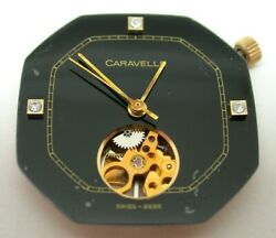 WATCHMAKERS – CARAVELLE 1461.50 MOVEMENT – VINTAGE PARTS – 34MF4 $29.99