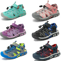Boys Girls Kids Athletic Sandals Closed Toe Summer Beach Water Sports Sandals $22.79