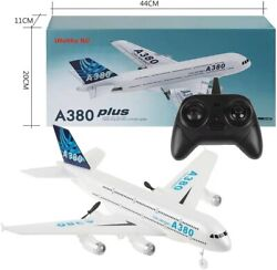 A380 Remote Control EPP RC Airplane Glider DIY Aircraft Kids Gift Toys $28.99