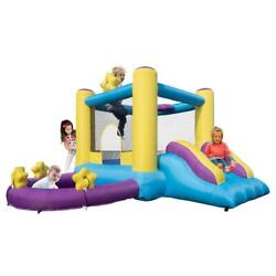 Inflatable Bounce House Castle Jump and Slide Bouncer for Outdoor Entertainment $237.99