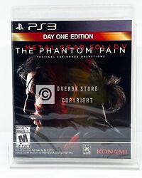 Metal Gear Solid V: The Phantom Pain Day One Edition PS3 New Factory Seale $19.99