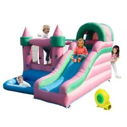 Mighty Inflatable Bounce House Castle Jumper Moonwalk Bouncer with Air Blower $259.99