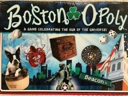 BOSTONOPOLY Board Game Monopoly Late For The Sky Game USA NEW $16.00