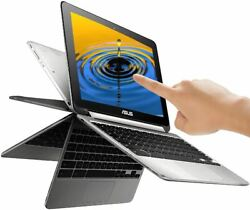 ASUS 10.1quot; 2 in 1 TOUCHSCREEN Flip Chromebook Quad Core Processor 16GB SSD 4GB $159.99