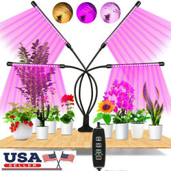 4 Heads Grow Light Plant Growing Lamp for Indoor Plants Hydroponics 80 LED 80W $24.98