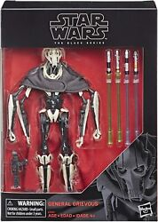 Star Wars The Black Series General Grievous Action Figure 6 Inch Scale $44.95