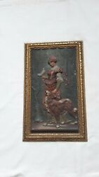 Bradley amp; Hubbard Signed Antique Victorian Wall Plaque $295.95