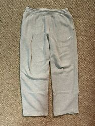 Mens Large Nike Grey Sweatpants