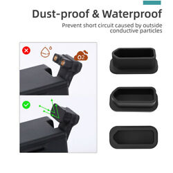 Silicone Dustproof DJI FPV Drone CoverBatteries Charging Port Protectors Set $8.09