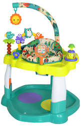 BABY BOUNCER ACTIVITY Center Jumper with 360 Degree Rotating Seat Play Toy Bar $56.93