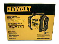 DeWALT DCC020IB 20 Volt High Pressure Corded Cordless Air Inflator Tool Only $113.89