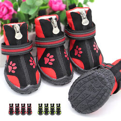Dog Shoes for Hot Pavement Dog Boots Waterproof Shoes for Large Dogs Running $13.99