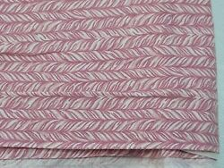 2.75 yds 100% cotton quilt fabric pink braid rug vintage material free shipping $23.48