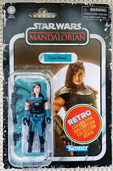 Star Wars Cara Dune Action Figure 3.75 Scale Retro Collection In Stock $49.99
