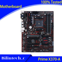 FOR ASUS Prime X370 A Motherboard Support 3600X AM4 64GB AMD DDR4 VGADVIHDMI $174.67