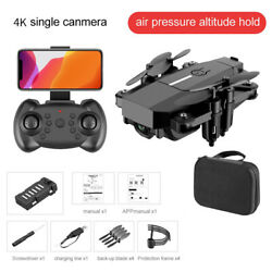 New Mini Drone 4K Professional HD Camera Wide Angle hold RC Helicopter for kids $59.80