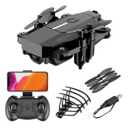 New Mini Drone 4K Professional HD Camera Wide Angle hold RC Helicopter for kids $65.34