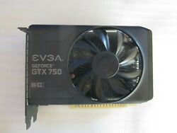 EVGA GeForce GTX 750 Superclocked DDR5 Video Card $64.99