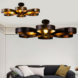 NEW Industrial Pendant Lamp Retro Lamps Flower Lights Ceiling Light Chandeliers $92.00