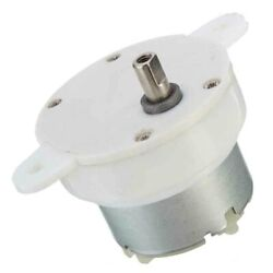 DC12V 3RPM Slow Down Shaft Dia High Torque Cylinder Electric Micro Motor Gear@ $4.39