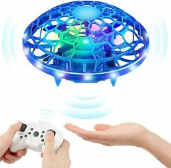 Mini Drones for Kids KAQINU Multiple Remote Controls Hand Operated RC Quadcopte $19.00