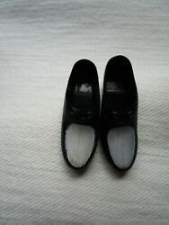 VINTAGE BARBIE KEN BLACK amp; WHITE DRESS SHOES JAPAN #2