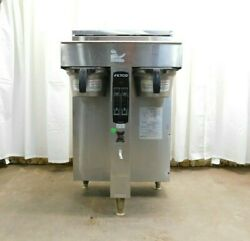 Fetco CBS 2052e Twin Dual Automatic Coffee Brewer Extractor 240V $399.00