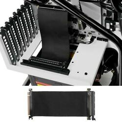 PCI Express High Speed 16x Flexible Cable Extension Port Adapter Riser Card USA $14.69