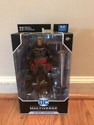 McFarlane DC Multiverse FLASHPOINT Batman Unmasked 7in Action Figure IN HAND $36.50