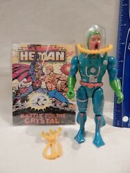 The New Adventures He Man Masters Universe HYDRON Loose Complete amp; Comic $32.99