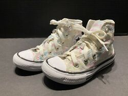 Converse All Star Girls Hightop Shoes Size 11 Unicorn $14.99