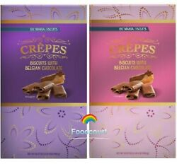 Loc Maria Crepes Biscuits With Belgian Chocolate Various Colors 19.97 OZ $24.85