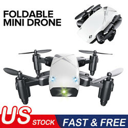 RC Mini Micro Drone Pocket Helicopter Foldable S9 HD Camera WiFi FPV $22.99