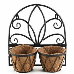 Hanging Wall and Fence Planter with Coconut Fiber Liner $19.78