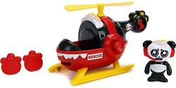 Jada Toys Ryan#x27;s World Helicopter With Combo 6quot; Panda Action Figure New 2021 $15.66