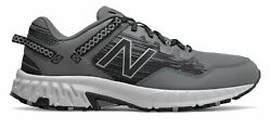 New Balance Men#x27;s 410v6 Trail Shoes Grey with Grey amp; Black