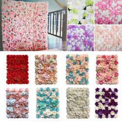 Hydrangea Artificial Fake Flower Wall Panel Bouquet For Wedding Party Backdrop $18.99