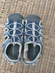 Old Navy Kids Boys Toddler Sandals Size 10 Water Shoes blue summer mesh $8.00