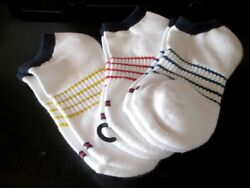 NWT Tommy Hilfiger Boys Socks 3 Pair Medium Size 7 10 Years Shoe Size 12 4 1 2 $11.99