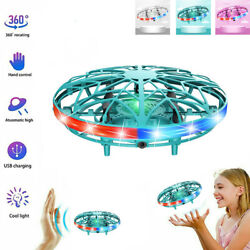 UFO Helicopter Ball Induction Aircraft Drone LED Mini Flying Suspension RC Toy $12.99