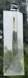 One Replacement 4quot; Clear Acrylic Lucite Chandelier Prism $10.00