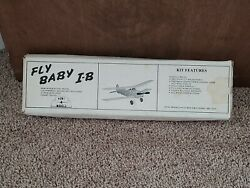 Hunt Models Fly Baby I B Semi Scale Balsa Kit. 21quot; wing span Never Assembled $40.00