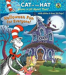 Halloween Fun for Everyone Dr. Seuss Cat in the Hat by Tish Rabe Board book $13.99