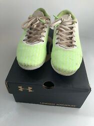 Under Armour Boys Soccer Cleats UA CF Force Size 3.5 Color White $11.00