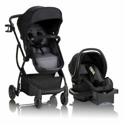 Evenflo Urbini Omni Plus Travel System with LiteMax Infant Car Seat Alloy Gray $124.95