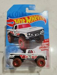 hot wheels #x27;70 dodge power wagon red edition target exclusive $10.00