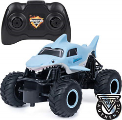 Monster Jam Official Megalodon Remote Control Monster Truck 1:24 Scale 2.4 4 $23.80